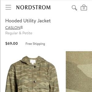 Brand New Utility Jacket from Nordstrom